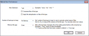 add file extension