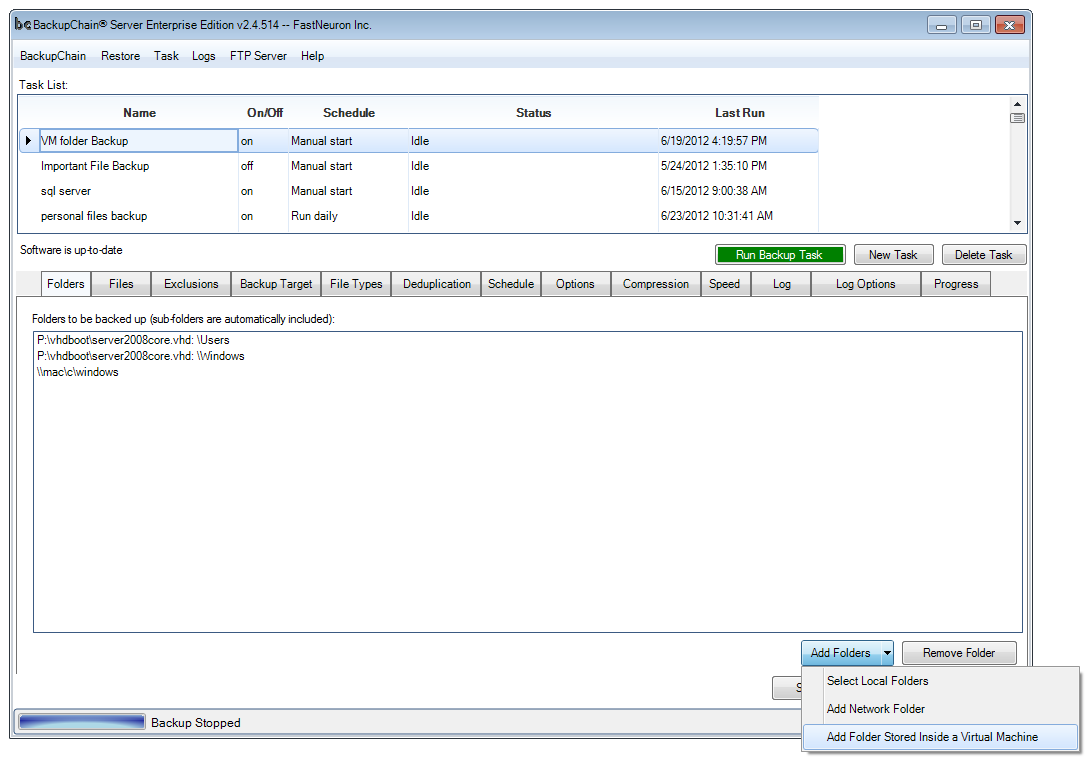 How to Configure a Hyper-V Granular Backup