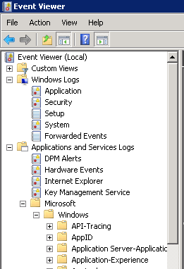 how to delete windows event log entries